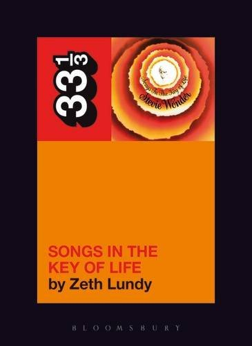 Lundy Zeth Stevie Wonder's Songs In The Key Of Life 33 1 3