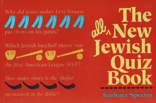 Barbara Spector The All New Jewish Quiz Book