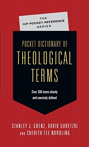 Stanley J. Grenz Pocket Dictionary Of Theological Terms