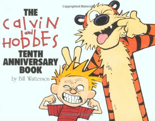 Bill Watterson The Calvin And Hobbes Tenth Anniversary Book 0010 Edition;anniversary