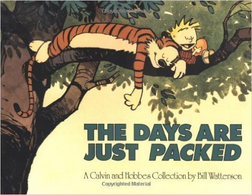Bill Watterson The Days Are Just Packed