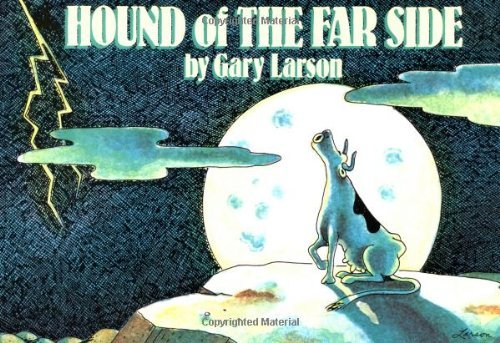 Gary Larson Hound Of The Far Side Original
