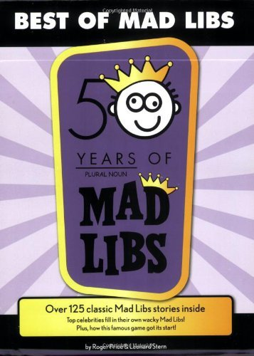 Roger Price Best Of Mad Libs