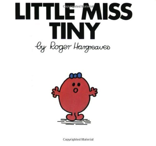 Roger Hargreaves Little Miss Tiny Revised