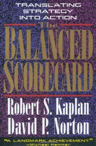 Robert S. Kaplan The Balanced Scorecard