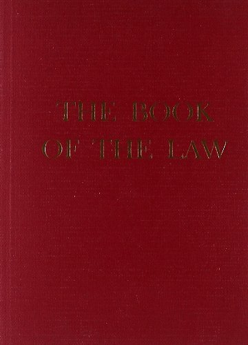 Weiser Books The Book Of The Law