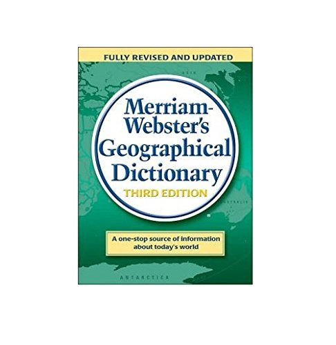 Merriam Webster Merriam Webster's Geographical Dictionary 0003 Edition;
