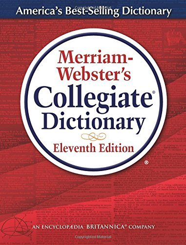 Merriam Webster Merriam Webster's Collegiate Dictionary Thumb Indexed 0011 Edition;