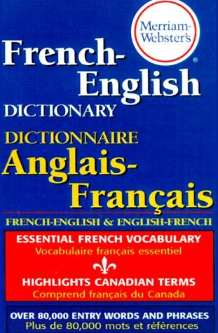 Merriam Webster Merriam Webster's French English Dictionary