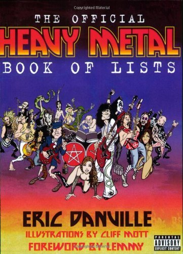 Danville Eric Official Heavy Metal Book Of Lists