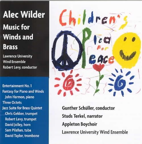 Alec Wilder Music For Winds & Brass Various Various