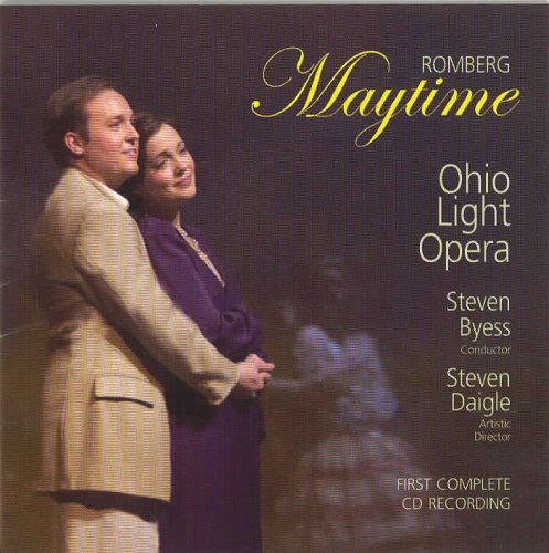Sigmund Romberg Maytime Byess Ohio Light Opera Orch