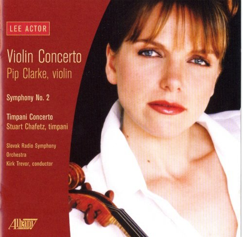 Lee Actor Violin Concerto Clarke*pip (vn)