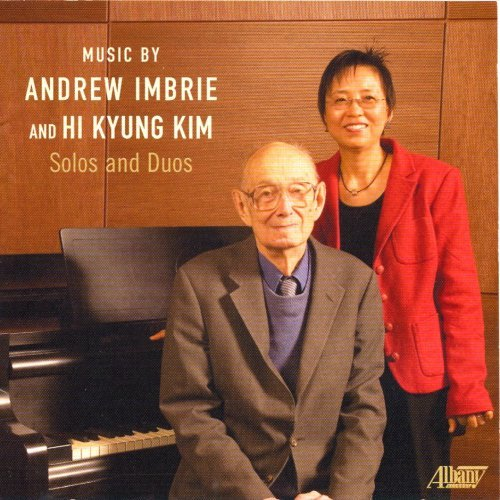 Imbrie Kim Music By Andrew Imbrie & Hi Ky Takahashi (pno)