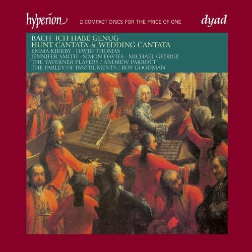 Johann Sebastian Bach Cantatas Wedding Hunt Ich Habe Kirby Thomas Smith Davies & Various