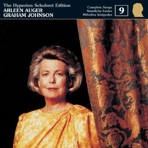 F. Schubert Complete Songs Vol. 9 Auger (sop) Johnson (pno)