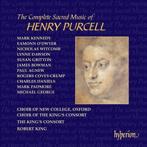 H. Purcell Sacred Music Complete King King's Consort