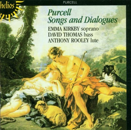 H. Purcell Songs & Dialogues Kirkby Thomas Rooley