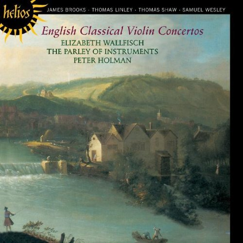 Elizabeth Wallfisch English Classical Violin Conce Wallfisch*elizabeth (vn) Holman Parley Of Instruments
