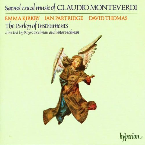 Monteverdi C. Sacred Music Kirkby Patridge Thomas Parley Of Instruments