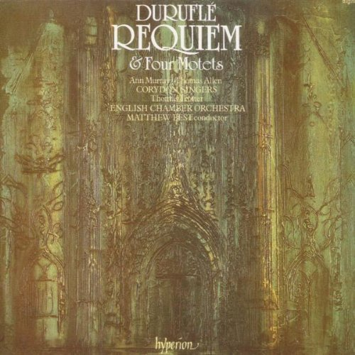 M. Durufle Requiem Motets Murray Allen Trotter Best Corydon Singers