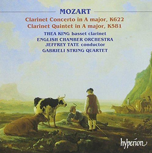 Wolfgang Amadeus Mozart Clarinet Concerto Clarinet Qui King*thea (cl) Tate English Co