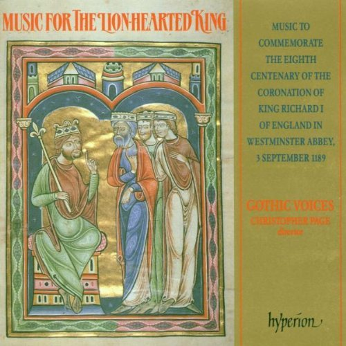 Gothic Voices Music For The Lion Hearted Kin Page Gothic Voices