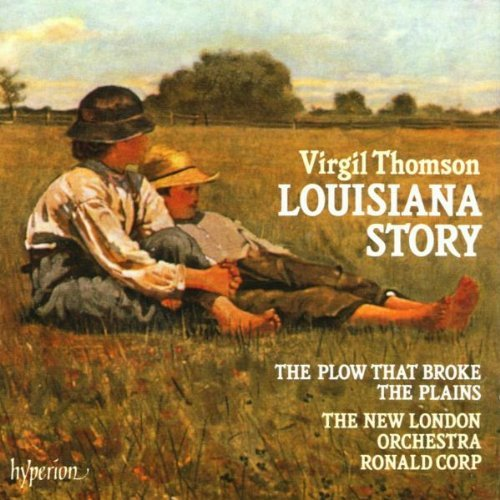 V. Thomson Louisiana Story Plow That Brok Corp New London Orch