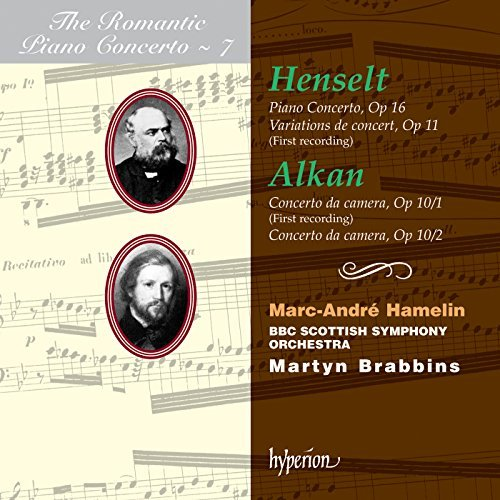 Henselt Alkan Piano Concerto Hamelin*marc Andre (pno) Brabbins Bbc Scottish So