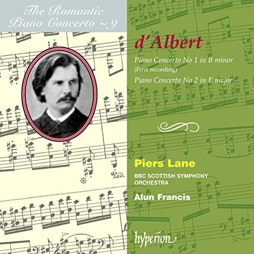 E. D'albert Piano Concertos Nos.1 & 2 Roma Lane*piers (pno) Francis Bbc Scottish So