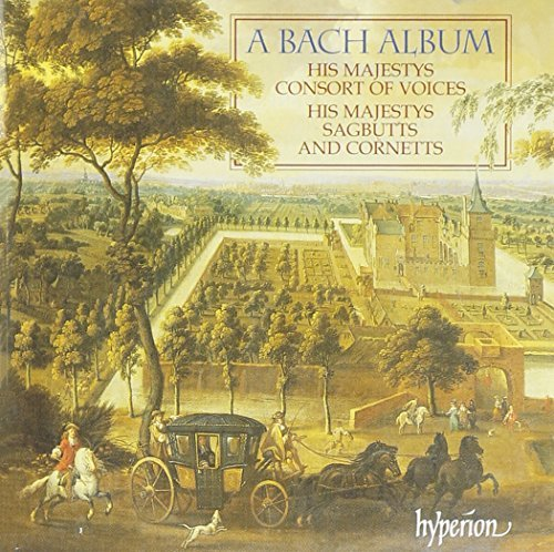 Johann Sebastian Bach Bach Album His Majestys Consort Of Voices
