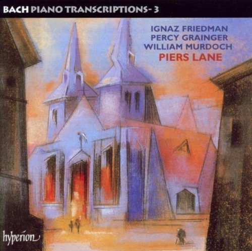 Johann Sebastian Bach Piano Transcriptions Vol.3 Lane*piers (pno)