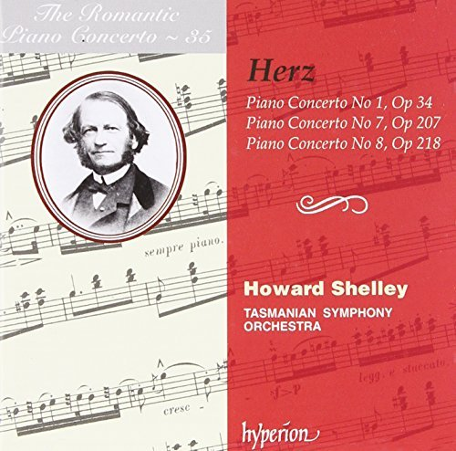 Herz Piano Concertos Nos.1 7 & 8 Ro Shelley*howard (pno) Shelley Tasmanian So