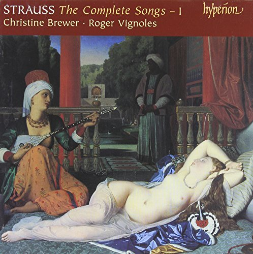 Richard Strauss Complete Songs Vol.1 Brewer (sop) Vignoles (pno)