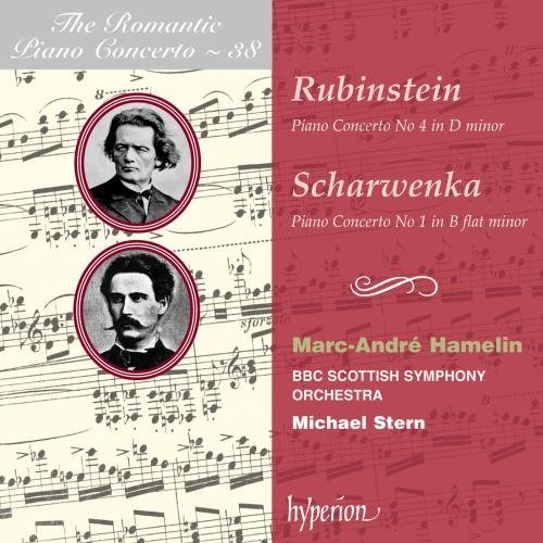 Rubinstein Scharwenka Piano Concerto No.4 Hamelin (pno) Stern Bbc Scottish So