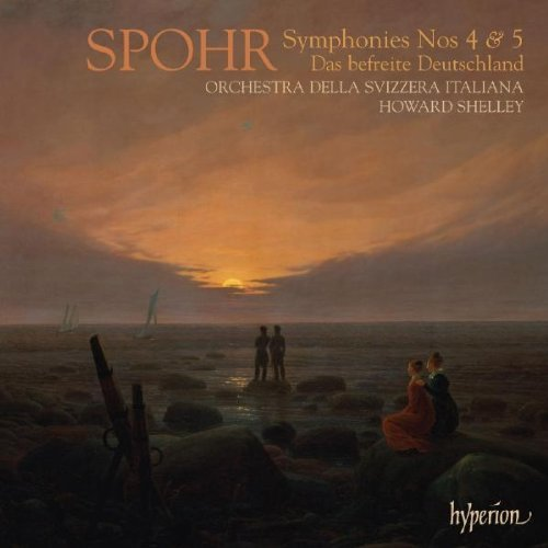 L. Spohr Symphonies Nos.4 & 5 Shelley Orch Della Svizzera It
