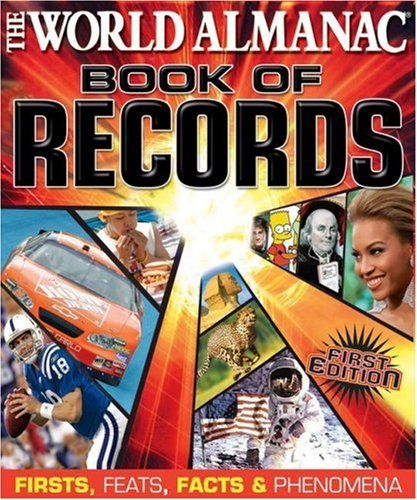 Mark Young World Almanac Book Of Records Firsts Feats Facts & Phenomena