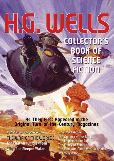 H. G. Wells Collector's Book Of Science Fiction From Rare
