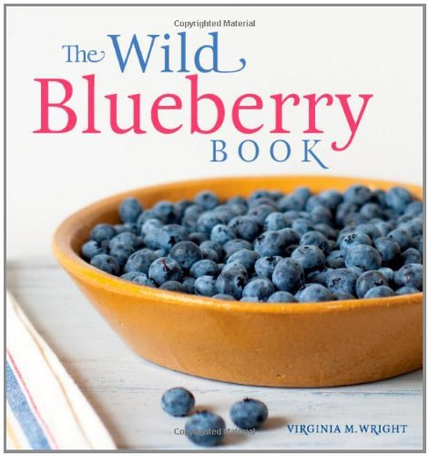 Virginia Wright Wild Blueberry Book The