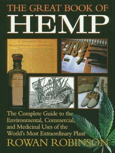 Rowan Robinson Great Book Of Hemp Original