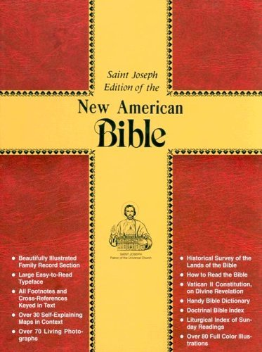 Catholic Book Publishing Co Saint Joseph Bible Nabre New American Bi