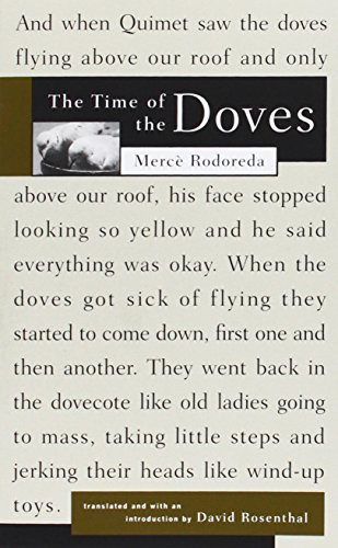 Merce Rodoreda The Time Of The Doves Revised