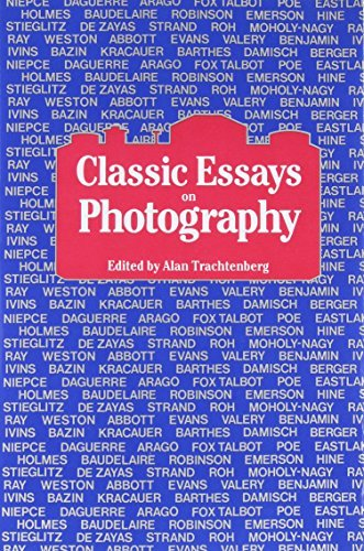 Alan Trachtenberg Classic Essays On Photography