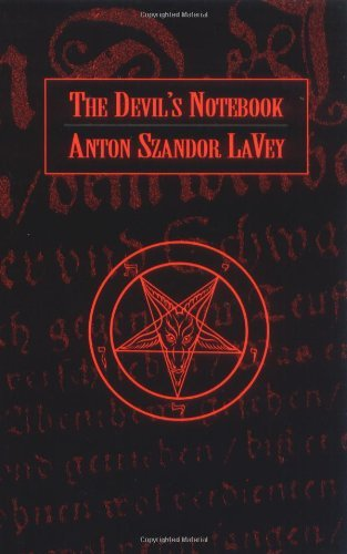 Lavey Anton Szandor Devil's Notebook The