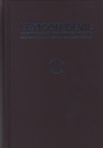 Brendan Mullen Lexicon Devil The Fast Times And Short Life Of Darby Crash And