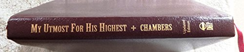 Chambers Oswald My Utmost For His Highest An Updated Edition In T