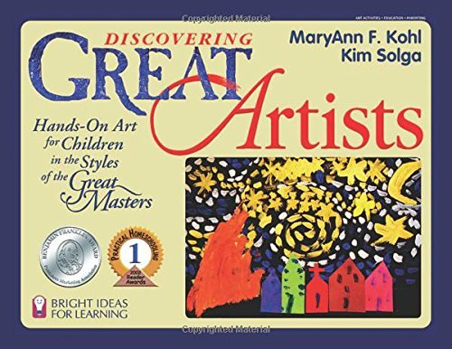 Maryann F. Kohl Discovering Great Artists Hands On Art For Children In The Styles Of The Gr
