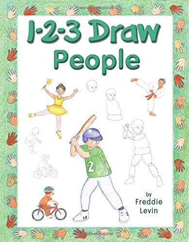 Freddie Levin 1 2 3 Draw People A Step By Step Guide