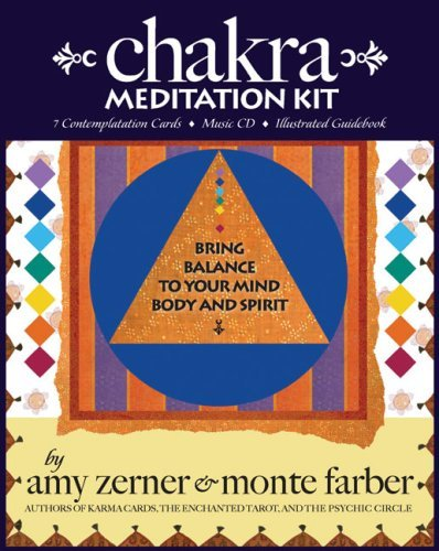 Amy Zerner Chakra Meditation Kit Bring Balance To Your Mind Body And Spirit [with