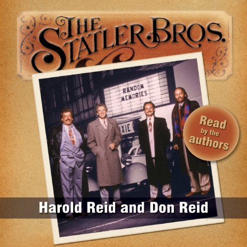 Harold & Don Reid Statler Brothers Random Memori Audiobook 5 CD